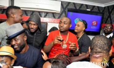 face, Basketmouth, Davido turn up for Industry Nite boss, Matthew Ohio