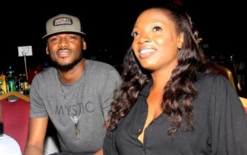 Annie Idibia Looks Stunning In Black At 2 Face's At 2Face's Album Party [Pictures]