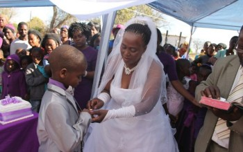 9 Year Old South African Boy Marries 62-Year-Old Woman…For the 2nd Time