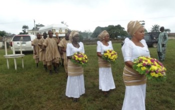 RIP…Human Rights Activist/Lawyer Bamidele Aturu Laid to Rest in Ondo