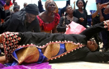 ##BringBackOurGirls: Jonathan meets Chibok girls' parents today