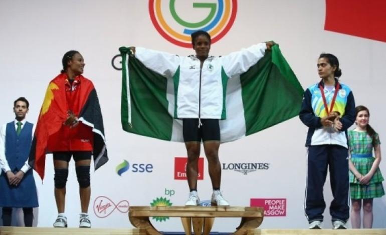 Nigeria wins first gold in Glasgow