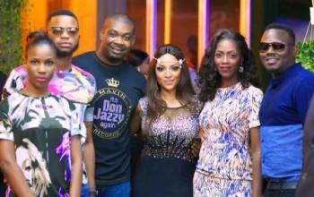 Rita Dominic, Peter Okoye, Eku Edewor, Toke Makinwa, Wizkid & More Stars Turn Up for Freda Francis' 30th Bash in Lagos