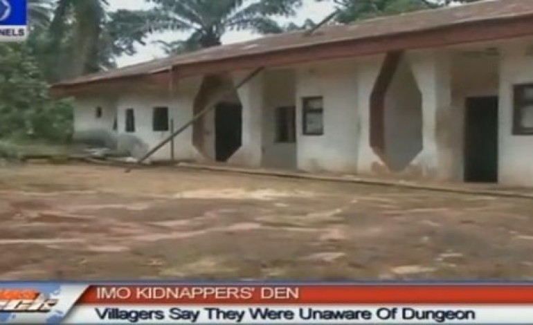 Imo Police Uncover 8 Bedroom Kidnappers Hide Out | Video