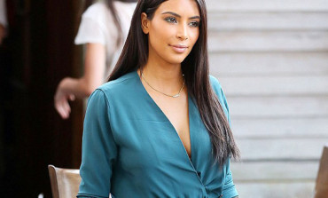Kim Kardashian Shares Topless Photos On Instagram