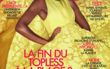 Hello Ms. Sunshine…Lupita Nyong'o Rocks Elle France's July 2014 Issue in Couture