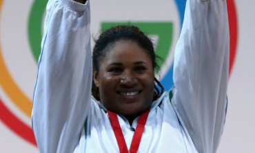 Go Team Nigeria! Maryam Usman Wins Weightlifting Women's +75kg Gold at Commonwealth Games
