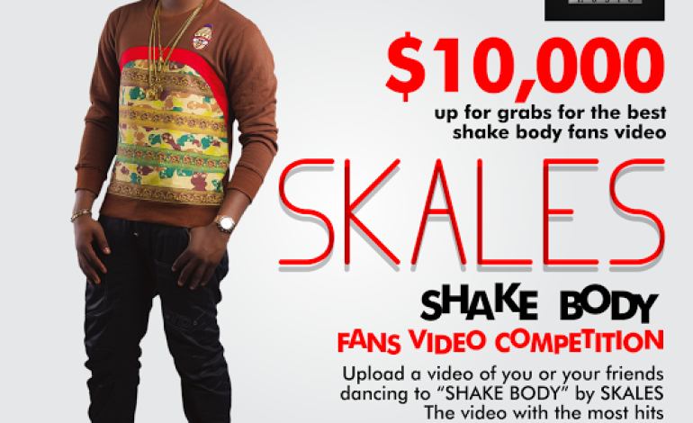 VIDEO: Skales – Shake Body | $10,000 Fan Competition