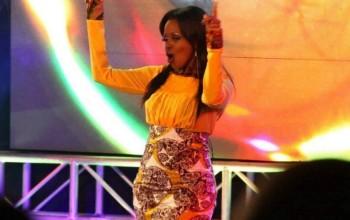 Kenyan Singer Amani Performs Without Panties; Flashes Her Vagina [18+ PHOTO]