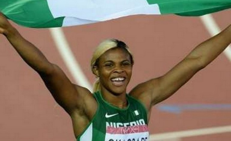 Blessing Okagbare Wins 100m Gold For Nigeria At Commonwealth Games