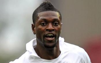 Tottenham Hotspur forward and Togo international Emmanuel Adebayor has been hospitalized with malaria.