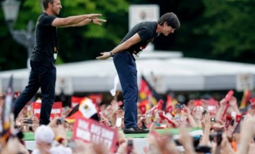 Germans Welcome Home Their World Cup Heroes (photos)