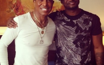 Jermaine Jackson In Nigeria To Work With PSquare On Their 6th Album[photos]