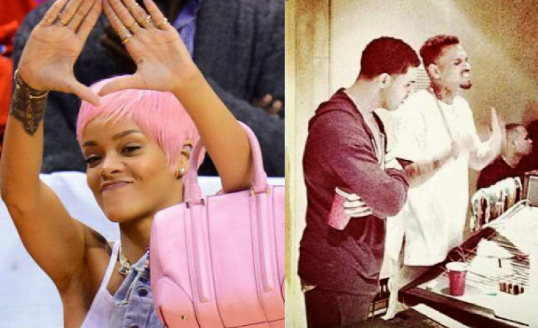 See Rihanna's reaction to Drake friendship with Chris Brown