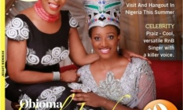 See Lovely Pictures: First Lady Of Cross River And Calabar Carnival Queen Cover TW Magazine.