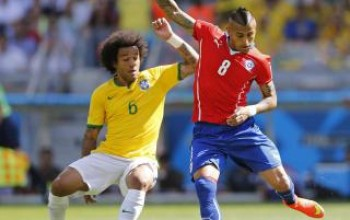 Not Happening: Arturo Vidal claims he isn't moving to Manchester United