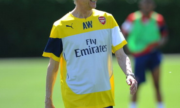 Arsene Wenger back to Training at Arsenal After World Cup (PHOTO)