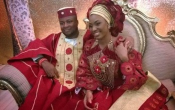 Photos From Iretiola Doyle's Daughter's Traditional Wedding