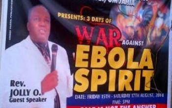 OOh Yeah! SEE What Ebola Is Now Causing In Churches
