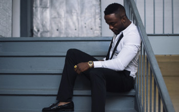 Iyanya Gets Cozy With Sexy Lady In Mr Oreo Video