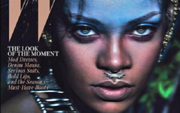Rihanna Is W Magazine's September 2014 Cover Girl