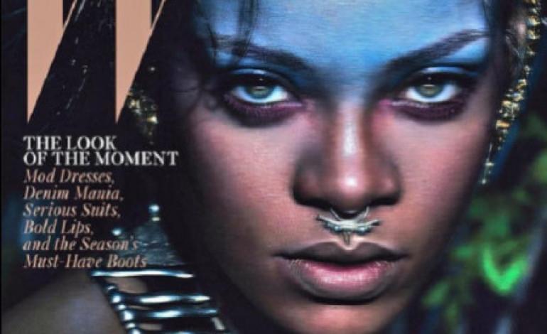Rihanna Is W Magazine's September 2014 Cover Girl