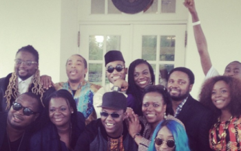 Nigerian celebs at the White House, See Pictures