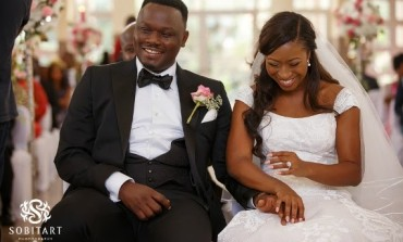 WOW! Dr Sid and Simi Osomo's official white wedding photos