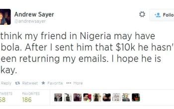 419! Australian Man's Tweet About Nigerian Friend Goes Viral