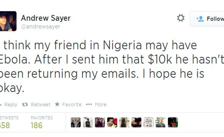 419! Australian Man's Tweet About Nigerian Friend Goes Viral