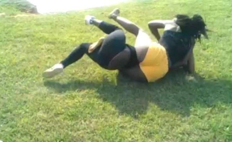 Disgraceful:Woman Arrested For Stripping Husband's Lover N3k£d