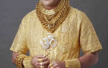 WOW! Meet Pankaj Parakh, Man Who Has Lots Of Shirts Made With Pure Gold, Has A Gold Suit Which Costs N29Million, SEE PICS