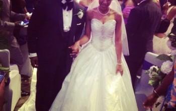 Photos from gospel singer, Sonnie Badu's white wedding