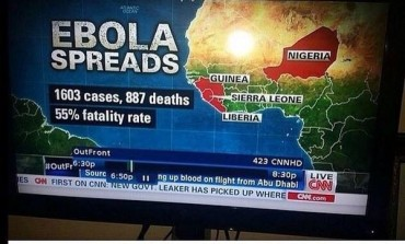 Social Media Reacts to CNN Labelling Niger as Nigeria, Ebola!
