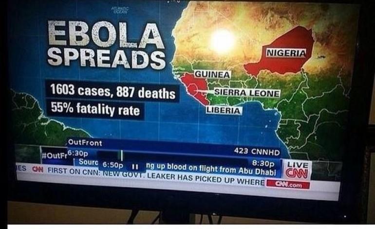 Social Media Reacts to CNN Labelling Niger as Nigeria, Ebola!