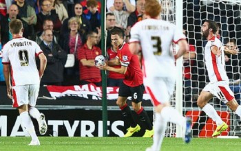 Mk Dons Humiliate Manchester United 4-0 To Advance In League Cup
