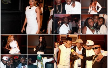 #Cokobar@10: Ice Prince, Patoranking, Chidinma, Wizkid, Sefiya at The HipTV-Cokobar All White Party (Photos)