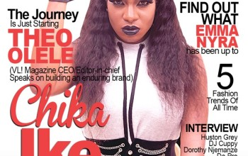 Nollywood Actress Chika Ike Covers VL! Magazine Nigeria New Issue