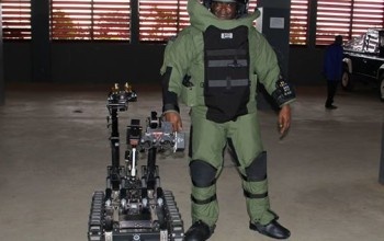See the High Tech Bomb Disposal Robot given to Nigerian Police by US Ambassador