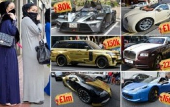 SEE MONEY! Super Rich Arabs Show Off Their Wealth In London [PHOTOS]