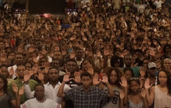 #DontShootUs – Students at Howard University Stand Up For Killed African-American Teen