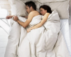 Sleep naked to have happy relationship - Agreed!