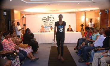 100 Male & Female Model Hopefuls chosen in Lagos at Aquafina Elite Model Look Nigeria 2014 Auditions