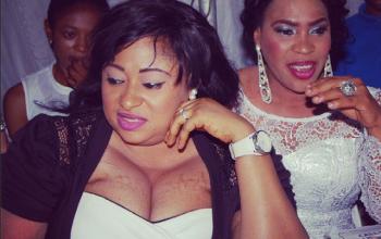 Ronke Oshodi Oke, her boobs & other stars attend Malaika's album launch
