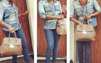 Funke Akindele looking like A Real Chick as she Rocks Denim