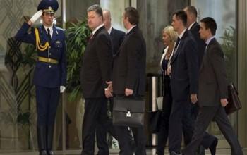 Russia, Ukraine And Pro-Russian Ceasefire Talks Start In Minsk