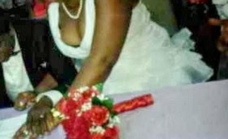Guy Dumps his Rich Lover at Ikoyi Registry, Steals her N4m