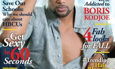 Good Movies: Hi Boris! Boris Kodjoe covers the New Issue of Upscale Magazine [See Video]