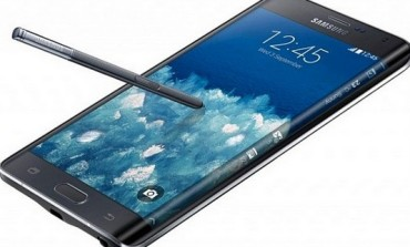 Samsung Unveils The Galaxy Note Edge With A Curved Screen [PHOTOS]