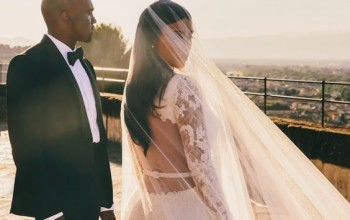 Kim Kardashian Shares Unseen Wedding Photograph On Instagram